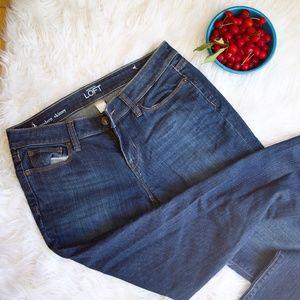 Loft Modern Skinny Jeans, Size 4